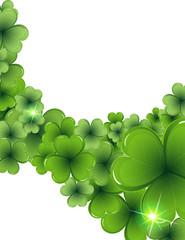 Magic clover background