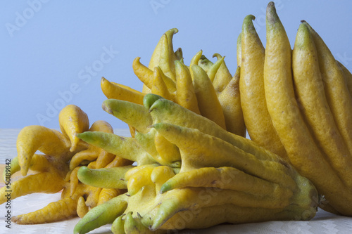 Close up of buddha's hand fruit