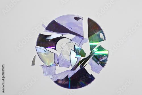 Broken cd rom