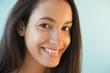 Smiling Hispanic teenager
