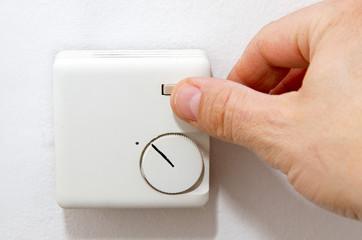 Nachtspeicherheizung - Gebläse einschalten