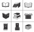 Book icons set. - 50193022