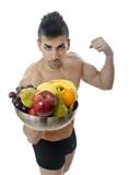 Fruit make you stronger poster