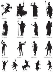 Olympic Gods and Mythological Characters