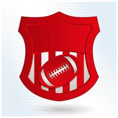 American Football Emblem