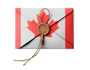 The Canadian flag