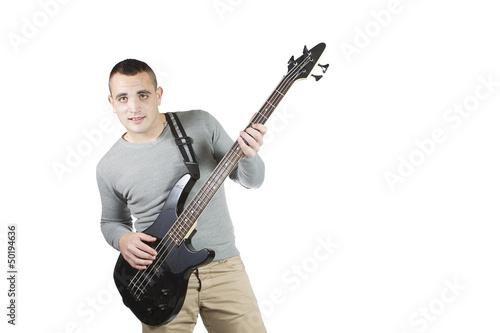 man whit bass