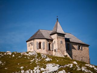 Chapel on a mountain top, Austria