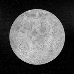 Moon planet - 3D render