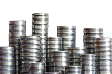 Coins skyscrapers