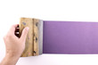 Purple printmaking