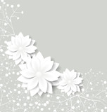 Fototapety floral background