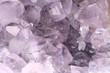 Amethyst rock close