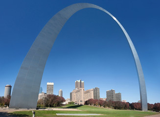 jefferson arch in st louis