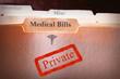 Medical Bills folder