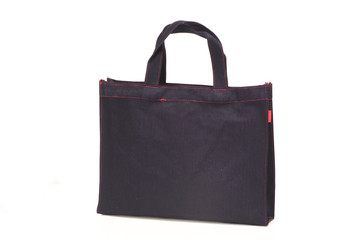 Black non-woven shopping bags