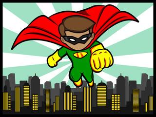 Little Superhero Flying