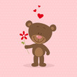 Little bear in love