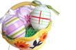 Osternest mit Eiern