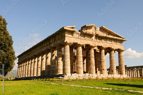 Greek Temples of Paestum Poseidonia