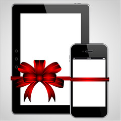 Tablet Phone Present