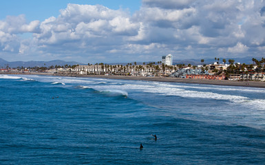 Oceanside Beach, California