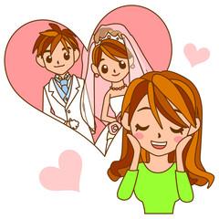 結婚式に向けて膨らむ期待