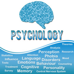 Phychology with Keywords - Blue