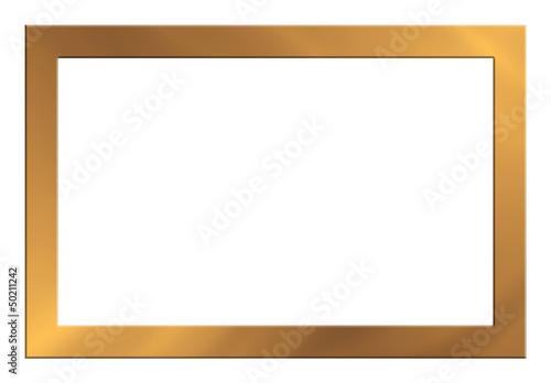 Bilderrahmen, gold, glänzend