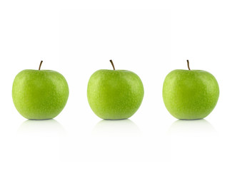 3 grüne Äpfel