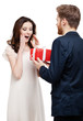 Man wonders his girlfriend with new year's present
