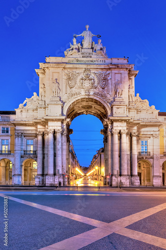 Arch of augusta in lisbon - 50213883