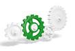 Zahnrad Konzept - Green Leader 3