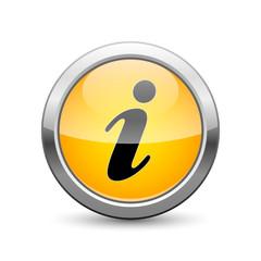 information icon internet button