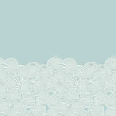 Abstract background with spirals