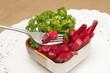 fresh beetroot slad ,healthy diet food