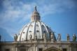 Постер, плакат: Cupola San Pietro Roma