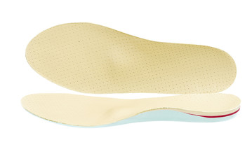 Orthopedic shoe insoles