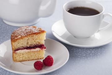 Tea and Victoria Sponge