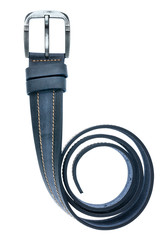 blue men  belt