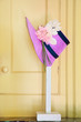 Vintage Bonnet on Hat Stand