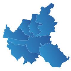 Hamburg Karte