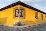 Fototapety Yellow House Corner
