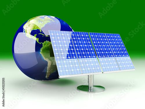 Alternative Energie - Solarzellen