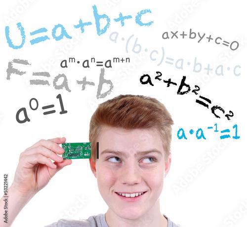 Mathe lernen – Festplatte, Speicherkarte