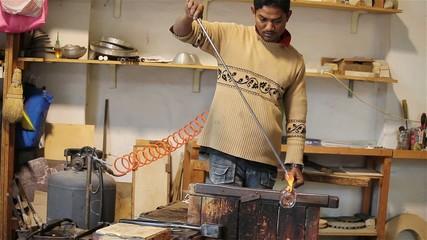 Lavorazione Del Vetro A Murano/Glass Manufacturing In Murano