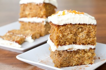 pineapple carrot cake - above eyelevel