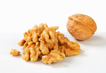 Fresh walnuts