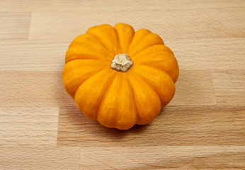 Miniature Gold Pumpkin