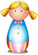 A colorful doll